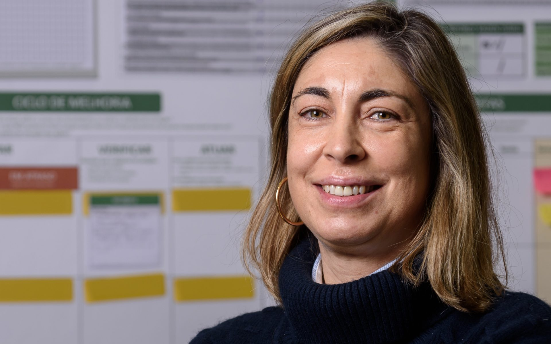 Sofia Jorge, manager of Celbi's Technical Control and Management Systems department