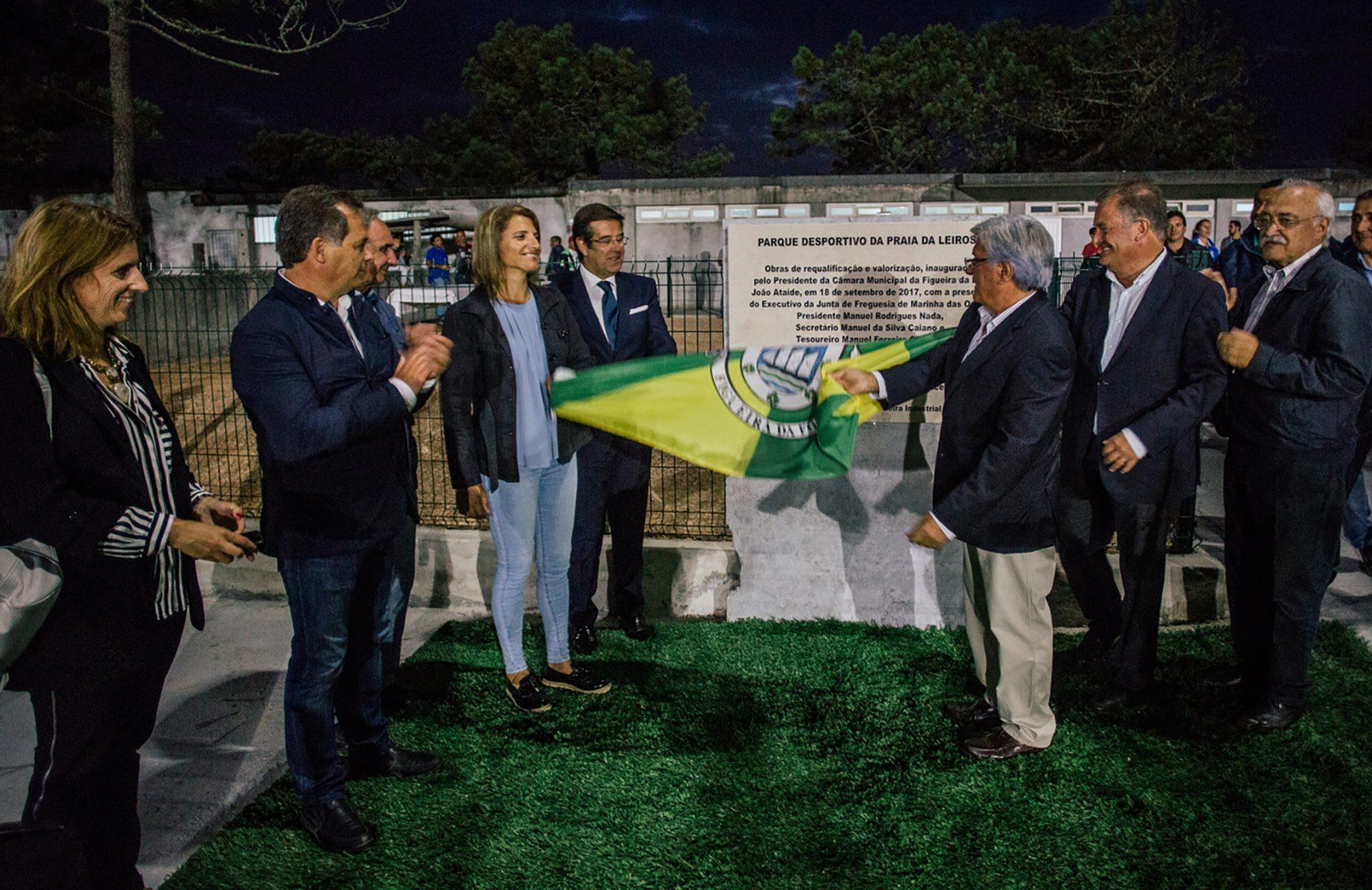 Inauguration of the sports complex of Praia da Leirosa