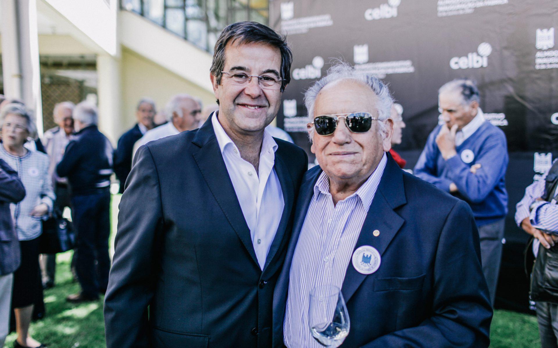 Nogueira Santos e José Gonçalves, ex-trabalhador da Celbi