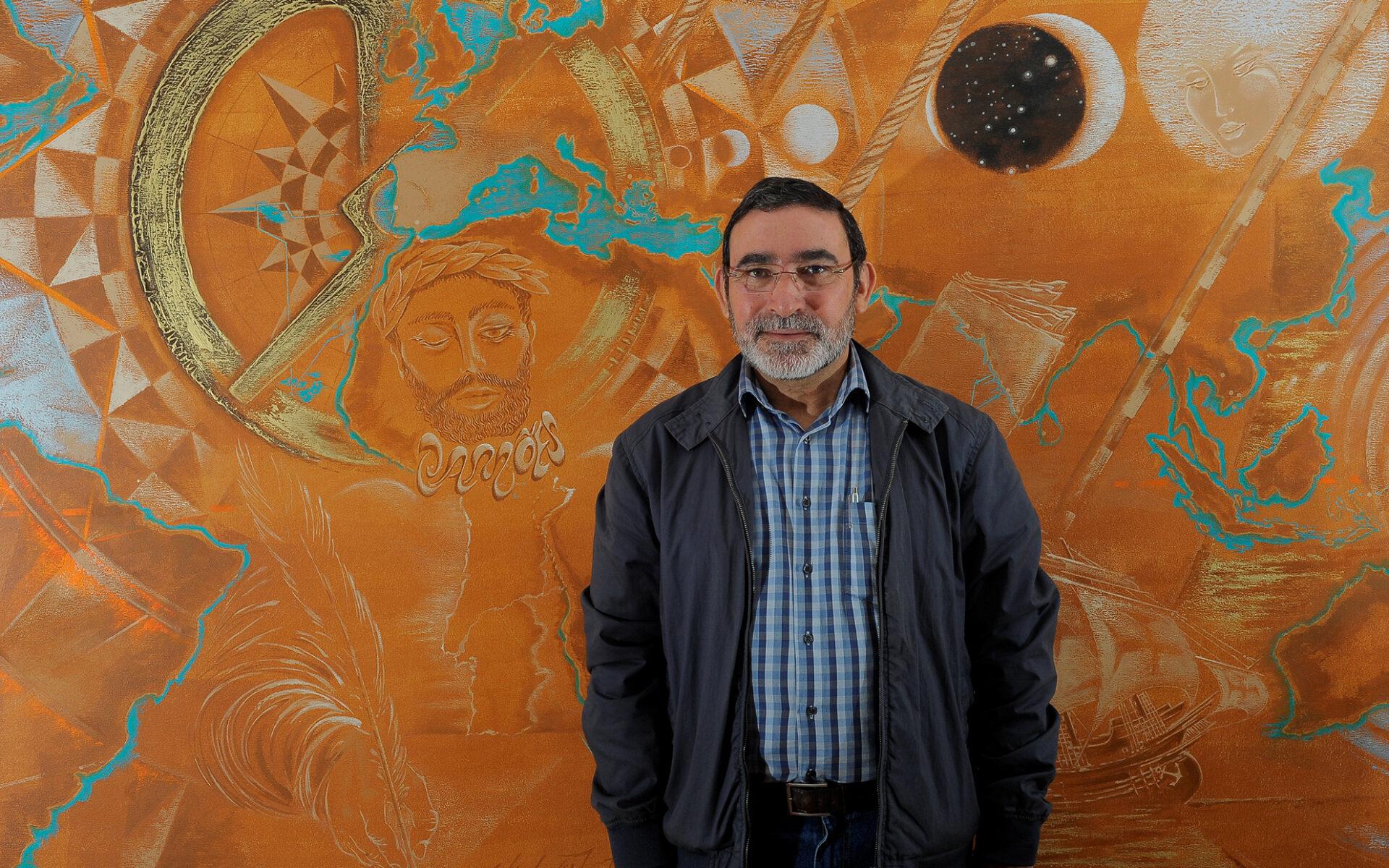 António Matias Coelho, historiador e presidente da Associação Casa-Memória de Camões